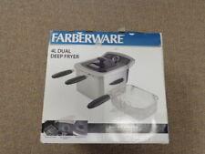 Farberware 103736 4l Dual Basket Deep Fryer Stainless Steel 0655772016393