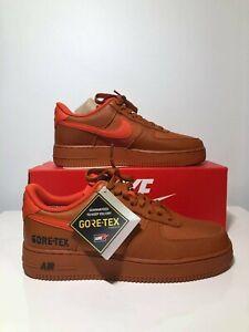 Men's Nike Air Force 1 Gore-Tex Desert orange Size 8 New NWOB AF1