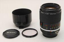 【MINT】Nikon Ai-s Micro-Nikkor 105mm f/2.8 Macro Manual Focus Prime lens + HS-14
