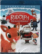 Rudolph the Red-Nosed Reindeer BLU-RAY New 2018 Deluxe Edition Classic NEW
