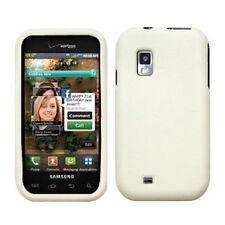 White Soft Silicone SKIN Case Cover Samsung Fascinate Mesmerize i500