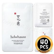 Sulwhasoo Snowise Brightening Cleansing Foam 5ml x 40pcs (200ml) Newist Version