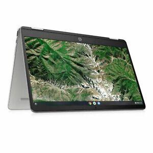 "HP x360 14"" Touch Screen 2-in-1 Chromebook Intel Celeron 4GB 64GB eMMC - New"