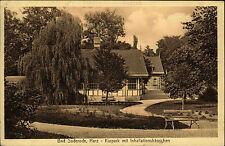 Bad Suderode Sachsen-Anhalt Harz 1916 Kurpark Inhallationshäuschen Verl. Stengel