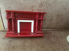 dolls house wooden fireplace