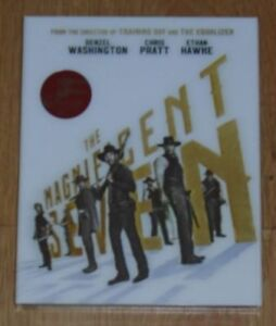The Magnificent Seven - Blu-ray - Steelbook- KimchiDVD Lenticular. New & Sealed