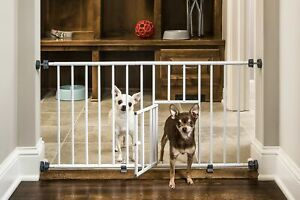 Carlson Pet Products MINI Expandable Extra Wide Pet Gate with Small Pet D... New