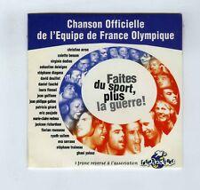 CD SINGLE (NEUF)CHANSON OFFICIELLE EQUIPE DE FRANCE OLYMPIQUE