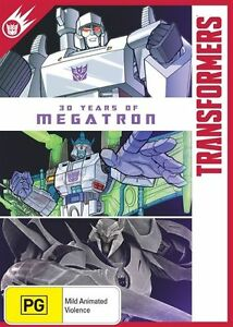 Transformers - 30 Years Of Megatron DVD NEW, FREE POSTAGE IN AUST REG 4