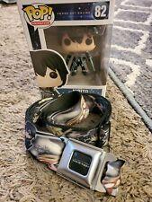 Funko Pop! Sword Art Online Kirito Pop Figure and Sword Art Online Buckle Belt