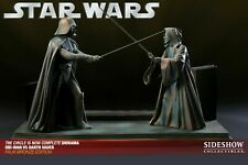 CIRCLE IS NOW COMPLETE DARTH VADER VS OBI WAN 1/25 EXCLUSIVE FAUX BRONZE DIORAMA