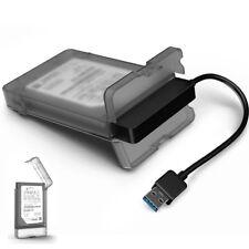 "Tool-Free USB 3.0 SATA III Festplattengehäuse Enclosures Case For 2.5"" HDD SSD"
