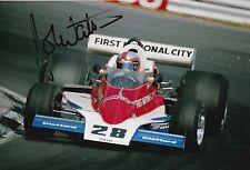 John Watson HAND SIGNED PHOTO 12x8 McLaren, BRABHAM F1 15.