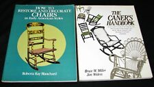 The Caner's Handbook: Step-by-Step Guide + Restore/Decorate Early Am. Chairs