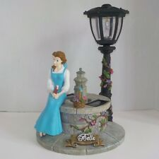 "2004 Disney Beauty and the Beast Belle Outdoor Solar Lawn Ornament 14"" Statue"