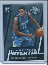 2015-16 Panini Totally Certified Potential #8 Karl-Anthony Towns /199