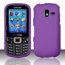 Hard Rubberized Case for Samsung Intensity III U485 - Purple