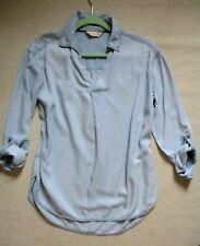 F&F Denim Pale Blues  Shirt Blouse   size 10/12