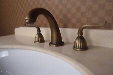 8 inch bathroom widespread Lavatory Sink faucet Antique clour  FREE SHIPPING