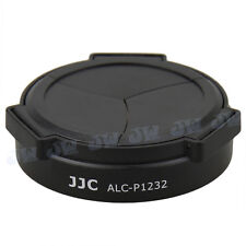 JJC Auto Open Lens Cap for Panasonic Lumix G Vario HD 12-32mm ASPH H-FS12032 BLK