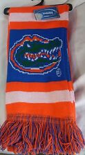 "NWT NCAA 2012 TEAM STRIPE ACRYLIC SCARF 64""x7"" - FLORIDA GATORS"