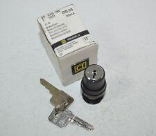Square D Rotary Key Switch Model# D8L80