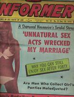 National Informer Tabloid December 20 1970 Merv Griffin