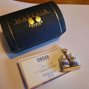 Christine Von Gampe MAYFAIR EDITION PORCELAIN MINIATURE - Oil & Vinegar Boxed