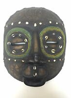 Luba (Baluba) African Tribal Mask