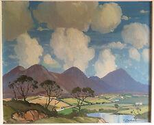 Original Oil on Board painting - Connemara - Irish Artist Charles Caldwell