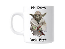 Star Wars Yoda Personalised Teacher Gift Mug