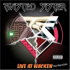 Twisted Sister - Live at Wacken: The Reunion (DualDisc, 2005)-FREE SHIPPING-