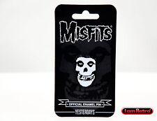 Misfits Fiend Soft Enamel Black Metal Plated Lapel Pin Yesterdays Brand New