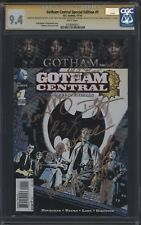 Gotham Central Special Ed. #1 - 8 x cast-signed (McKenzie and more!)  CGC 9.4 SS