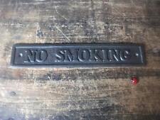 Non fumare-Door SIGN ~ GHISA ~ VINTAGE PUB BAR RISTORANTE