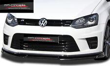 Spoilerlippe für VW Polo 6R WRC Lippe Spoilerschwert Frontspoiler Ansatz Diffuso