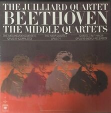 BEETHOVEN-THE MIDDLE QUARTETS-ORIGINAL 1976 COLUMBIA  RECORDS 3LP BOX SET-SEALED