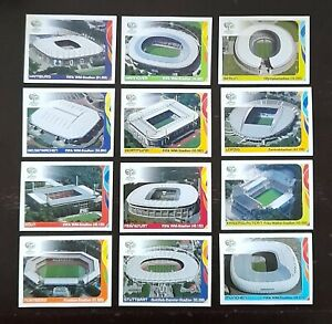 Panini FIFA World Cup Germany 2006 Complete Stadiums Stickers
