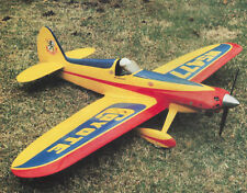 Cosmic Coyote Racing Style Sport Plane Plans,Templates and Instructions 55ws