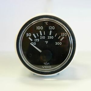 VDO Ocean Line Oil temperature gauge N02 321 723