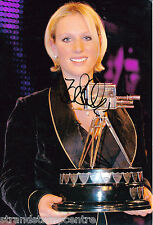 """Zara Phillips Colour 10""""x 8"""" Signed 'Sports Personality' Photo - UACC RD223"""