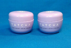 2X TATCHA ~ The Dewy Skin Cream ~ 10ml / 0.34oz ~ Lot of Two ~ NEW!