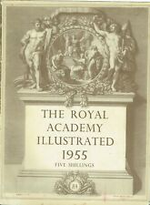 Royal Academy Illustrated 1955 (150+, B & W images - a great reference)