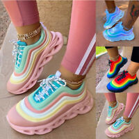 Damen Sportschuhe Turnschuhe Laufschuhe Sneaker Freizeit Running Schuhe Mode Neu