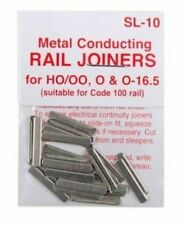 PECO SL10 OO/HO Scale Rail Joiners for Code 100 Rail Peco - Pack of 24