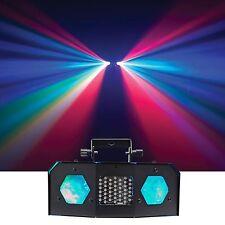American DJ ADJ Dual Gem Pulse IR Moonflower Effect Dance Floor Light