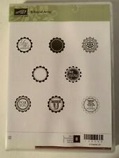 "New Stampin' Up Rubber Mount Stamp Set ""A Round Array"""