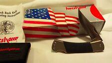 Kershaw 3320ST Black Gulch Pocket Knife - MADE IN USA - NIB  - NOS 3320 ST