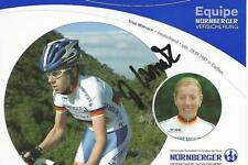 Cyclisme, ciclismo, wielrennen, radsport, cycling, TRIXI WORRACK signé