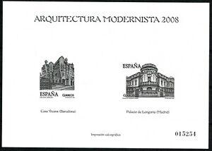 PRUEBA ARQUITECTURA MODERNISTA 2008 EN PERFECTO ESTADO.